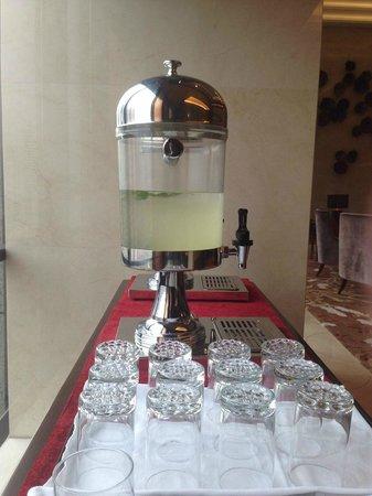 Oakwood Premier Guangzhou : Welcome Tea
