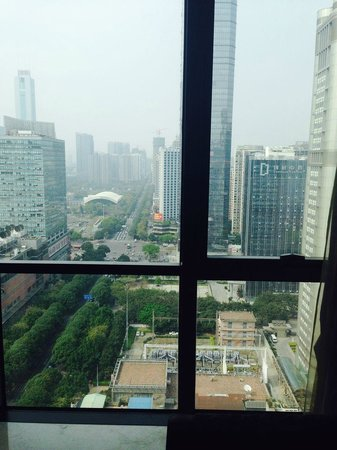 Oakwood Premier Guangzhou : View from the window