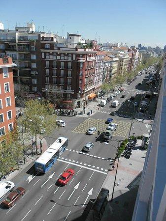TRYP Madrid Chamberí Hotel: Vista