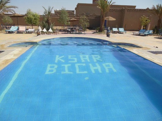 Ksar Bicha : La piscina