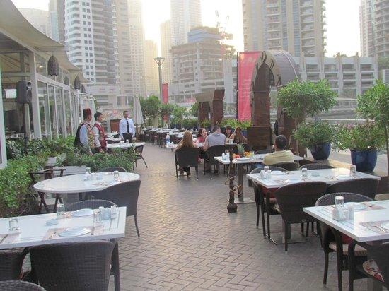 Marina Branch, terrace