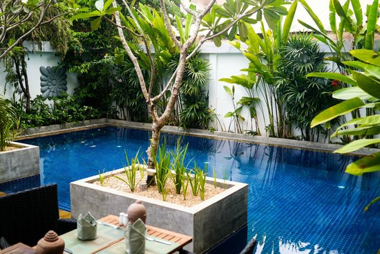 Landing Point Villa: perfect pool for an afternoon dip to cool down