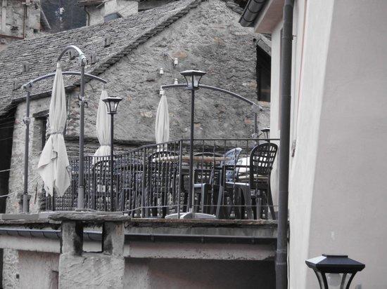 Antica Osteria Dazio : Terrasse
