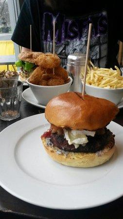 Gourmet Burger Kitchen: Camemburger. Yum!