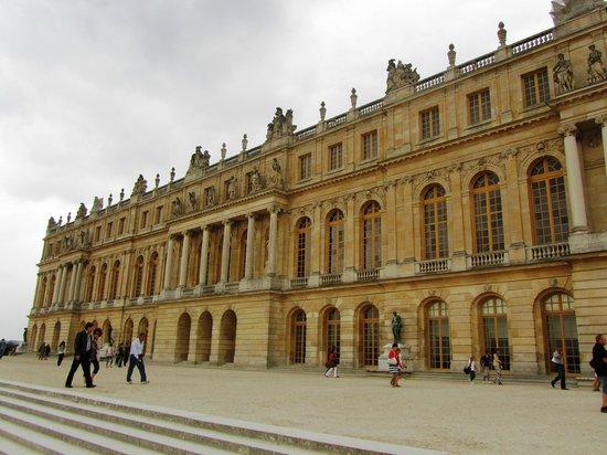 Château de Versailles : Версаль backside