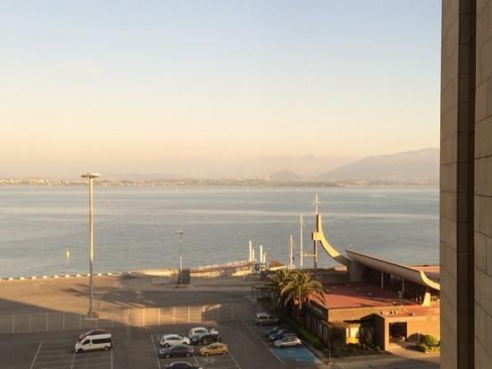 Hotel Bahía Santander: Vistas desde el hotel