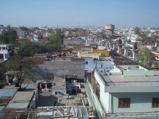 Hotel Royal Orchid, Jaipur: View towards the centre