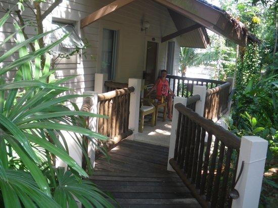 Pakasai Resort : accès pour la chambre