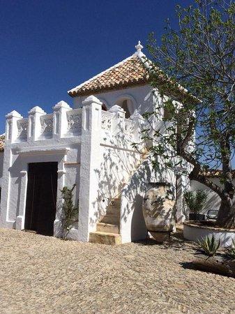 Cortijo El Guarda: A delightful open air massage on the top of the elegant mirador....