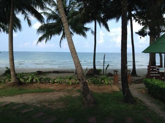 KC Grande Resort & Spa : View frim the beach front villa