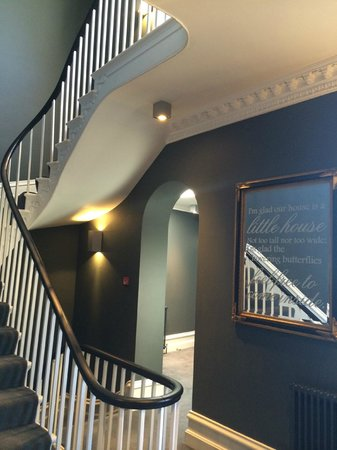 Poets House: Beautiful staircase