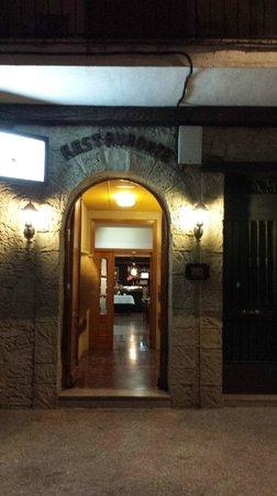 Restaurante & Bistro Casa Alfonso: Entrada al restaurante