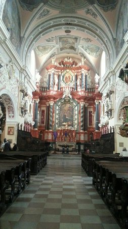 Franciscan Church: Interior de la iglesia
