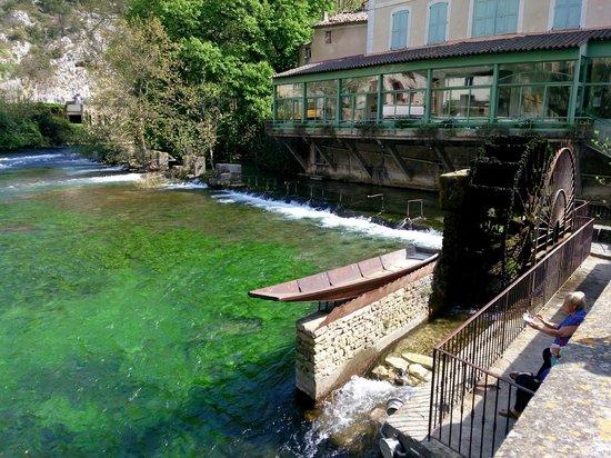 La Fontaine de Vaucluse: Мельница