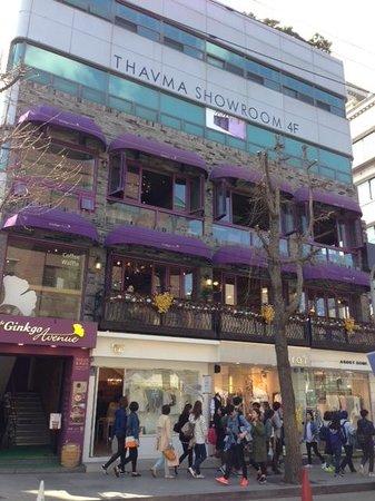 Garosu-gil: Cafes on the Second Floor