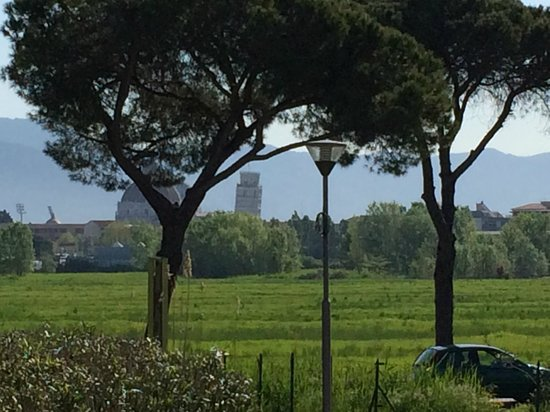 Allegroitalia Pisa Tower Plaza: Aussicht