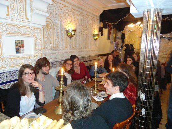 Repas entre amis picture of le gourbi paris tripadvisor for Repas soiree entre amis