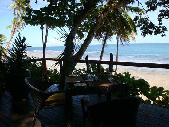 Namale the Fiji Islands Resort & Spa : View from Table Restaurant