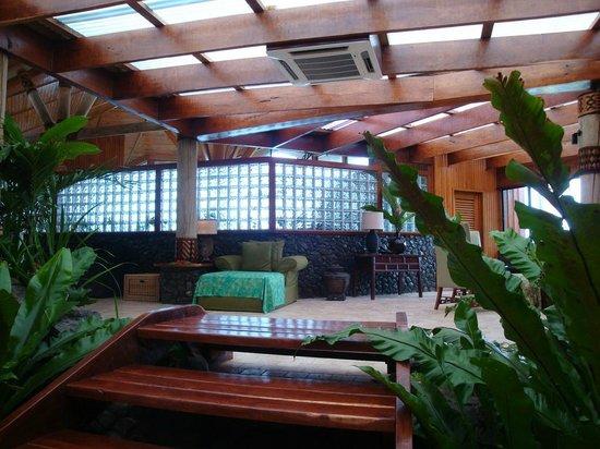 Namale Resort & Spa: Resting Area of Spa