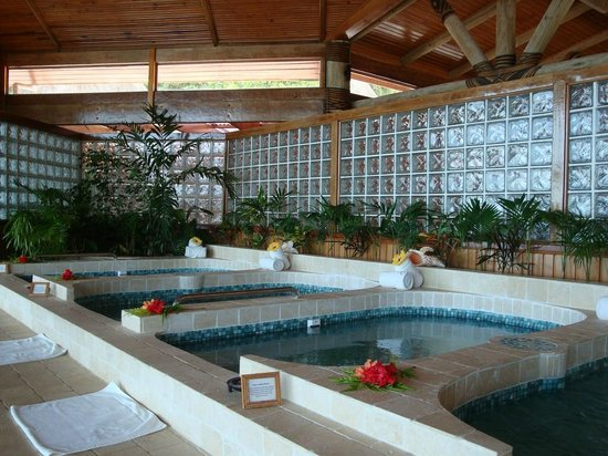 Namale Resort & Spa: Spa Pools