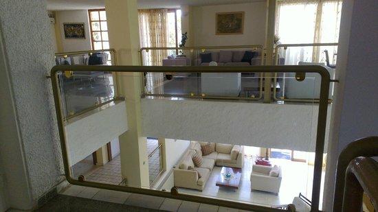 Hotel Alkyon: sala interna dell'Hotel