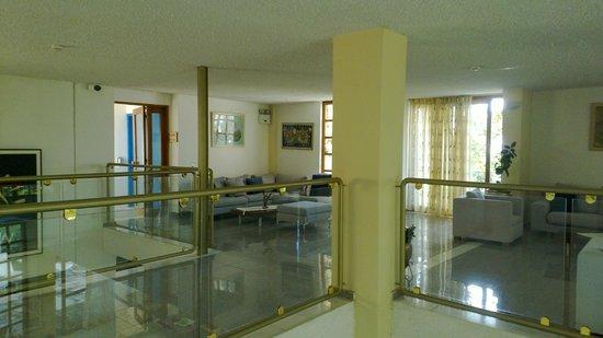 Hotel Alkyon: sala comune dell'Hotel