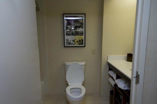 Renaissance Los Angeles Airport Hotel : Jr Suite Toilet