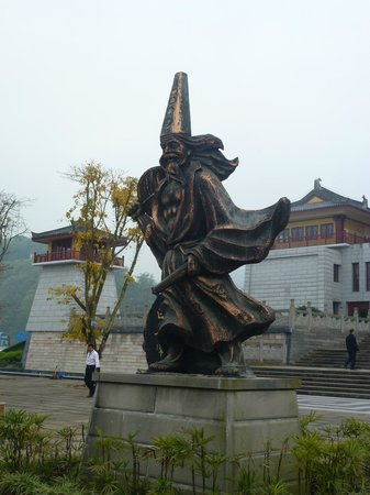 Ghost City of Fengdu : Iconic Statue