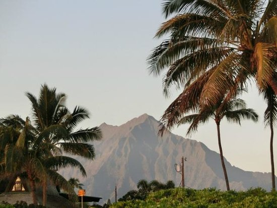 Kalama Beach Park: Ko'olau mountains