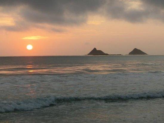 Kalama Beach Park: sunset time