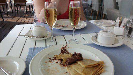 Capo Bay Hotel: Breakfast