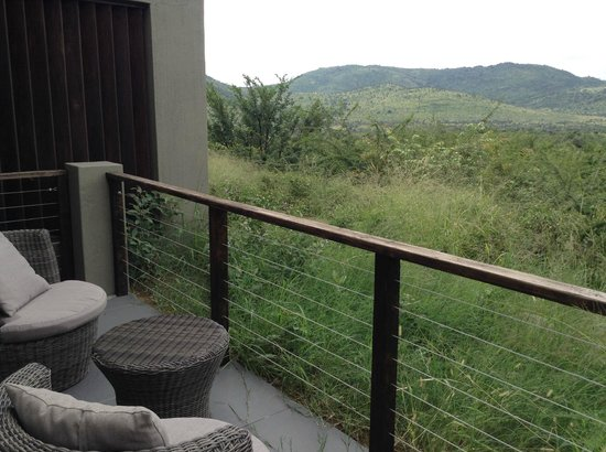 Shepherd's Tree Game Lodge: Each room has its own private view out over the park