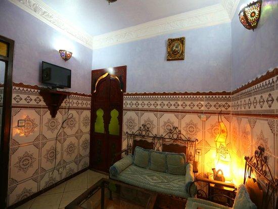 Casa Annasr: Sallon