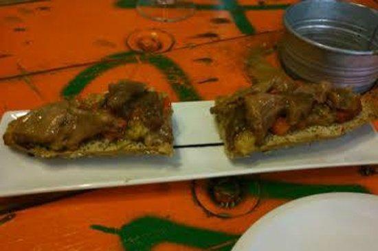 La Candela: Tosta de ventresca