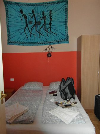 Jimi Hendrix Guesthouse: View of the room