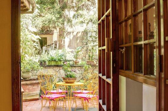 Hotel Boston: giardino