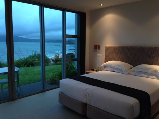 Doubtless Bay Villas : Studio room overlooking the bay