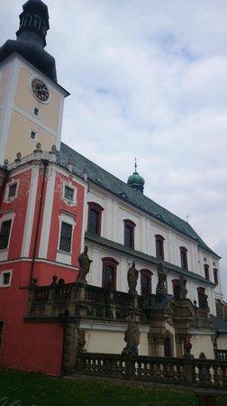 The Broumov Monastery : Church