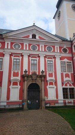 The Broumov Monastery : Main entrence