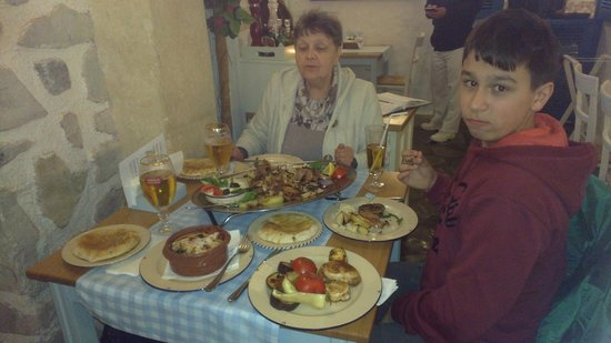 Taverna Dionysos : Ужин на троих