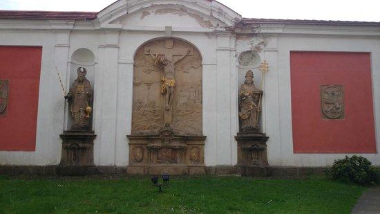 The Broumov Monastery : Inside view