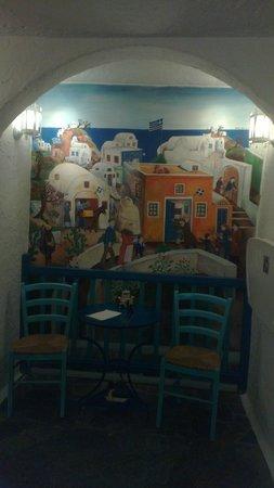Taverna Dionysos : Не поверите - вход в туалет.