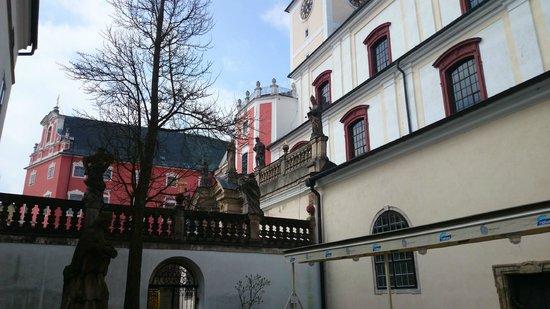 The Broumov Monastery : Abbey garden