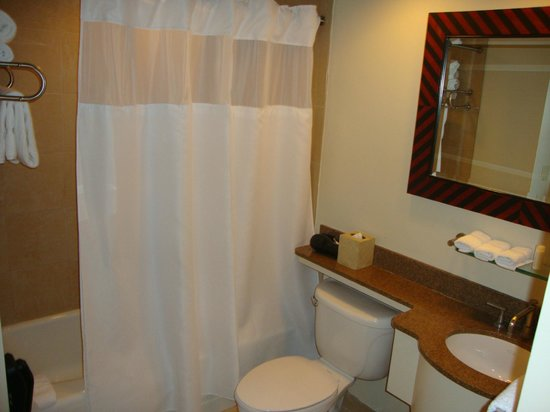 Dumont NYC–an Affinia hotel: bathroom of room 1703