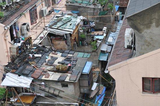 Shanghai Amersino Hotel: Вид из окна