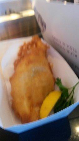 Stein's Fish & Chips: Cod n chips £7.95
