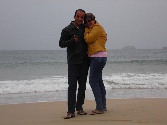 Costa Norte Ingleses Hotel: frio e nem posso entrar na água