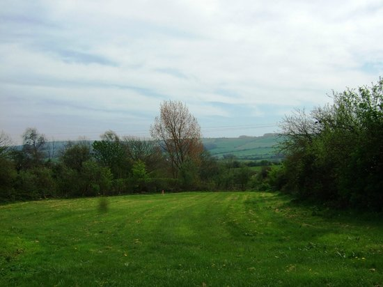 The New Inn: View from rear garden