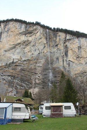 Camping Jungfrau: caravan