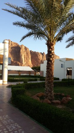 Al-Ula ARAC Resort: outside the rooms